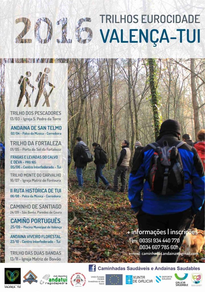 2016 Andainas Saudables Eurocidade Cartel