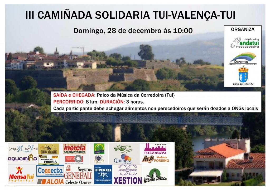 III Camiñada Solidaria Tui-Valença - Tui